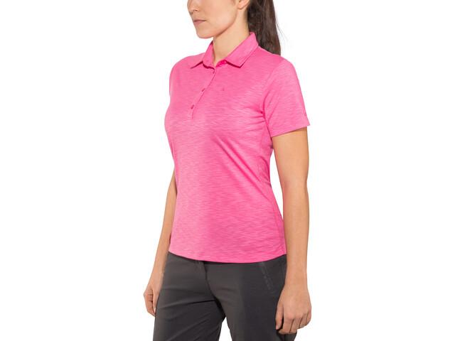 Schöffel Capri1 Polo Shirt Women Camine Rose